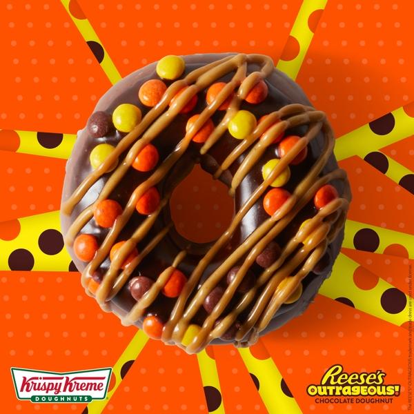 Krispy Kreme Doughnuts Introduces Reese's Outrageous Doughnut