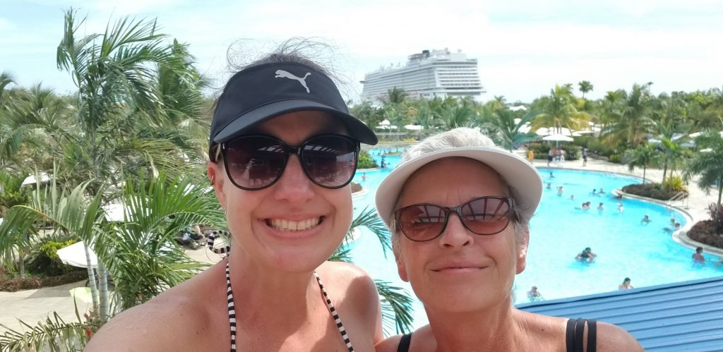Cruising the Western Caribbean with Norwegian Cruise Lines and my Momma