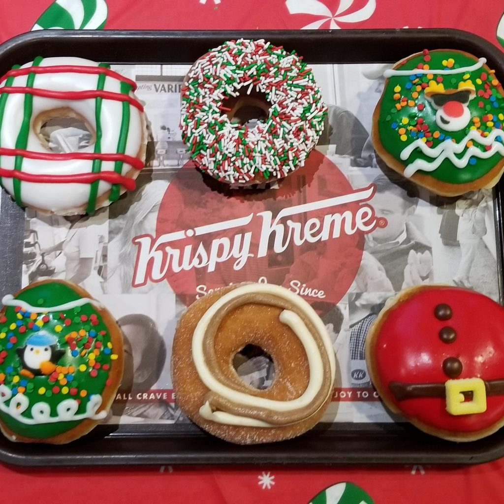 Krispy Kreme Doughnuts Holiday Treats Are Back for a Limited Time Only