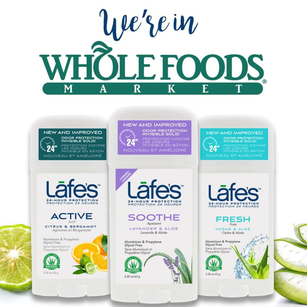 Conscious Living with Lafe's Natural BodyCare Products