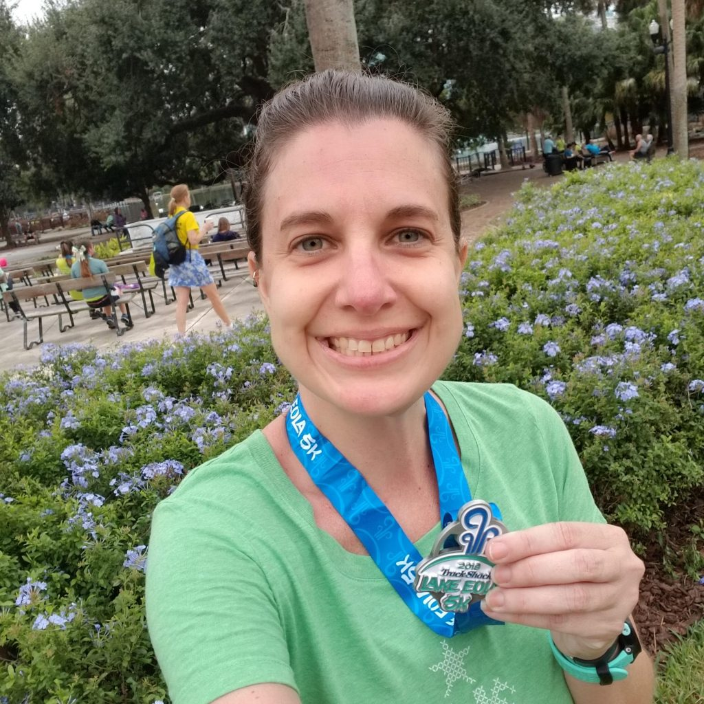 Race #10 of 2018 - Lake Eola 5k