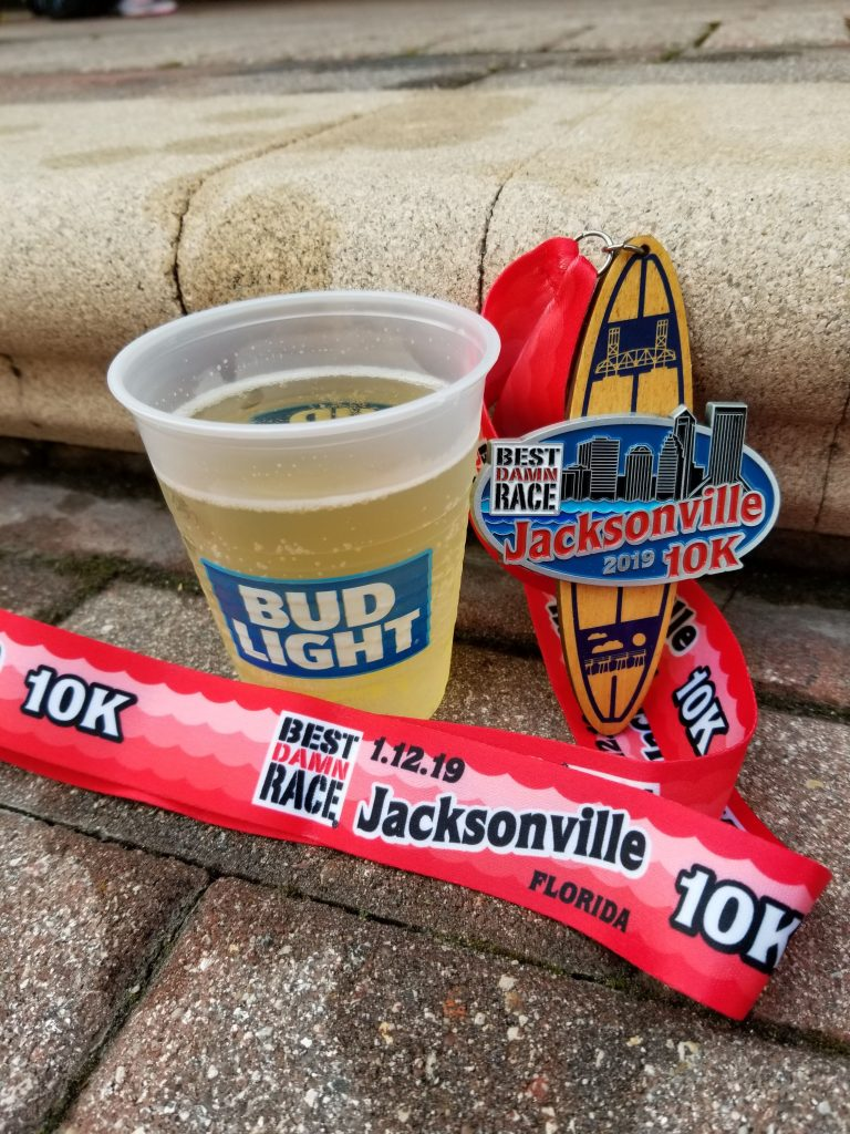 Race #1 of 2019: Best Damn Race Jacksonville 10k