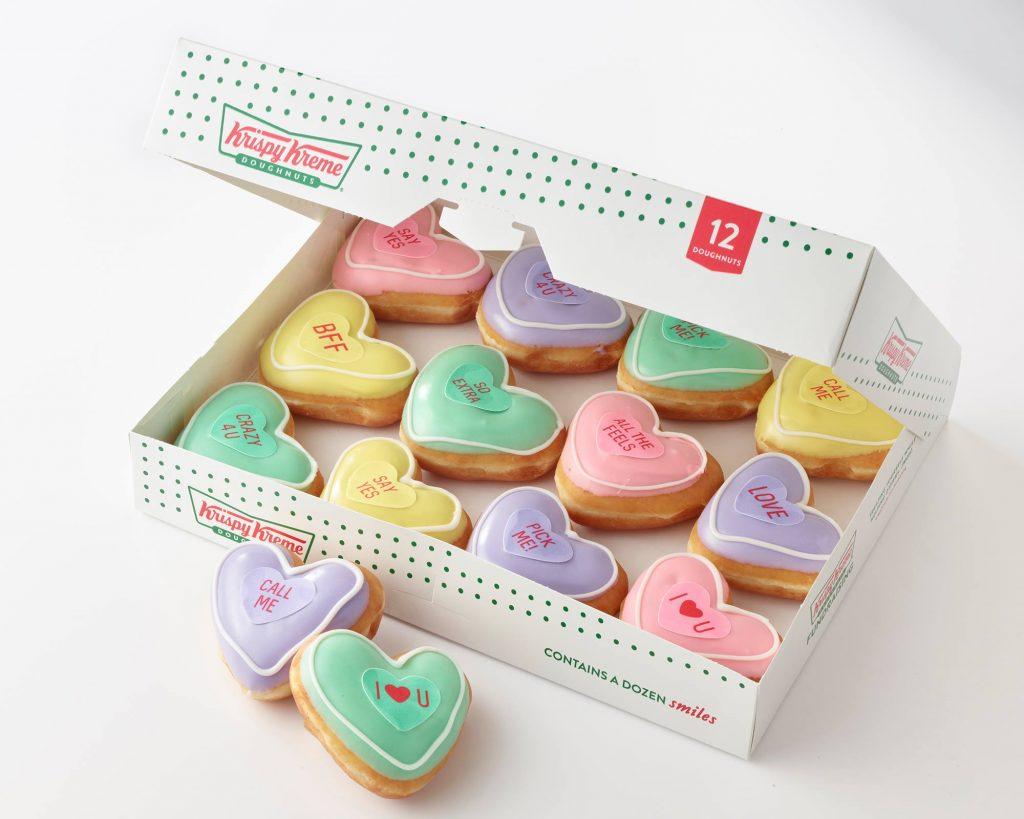 Krispy Kreme Doughnuts Introduces Valentine 'Conversation Doughnuts'