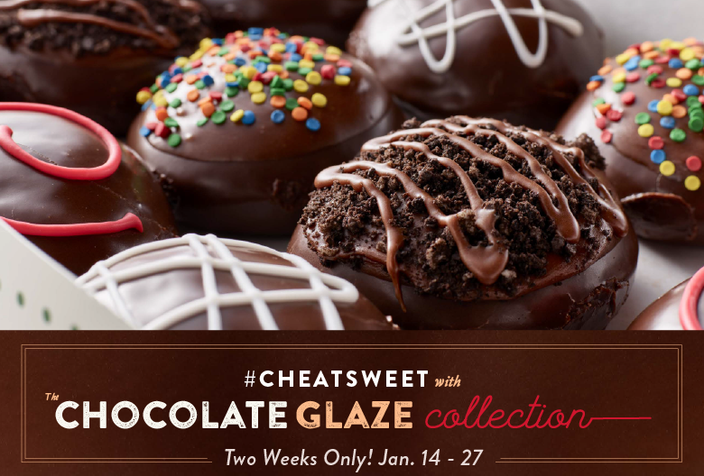 #CheatSweet with Krispy Kreme New Chocolate Glaze Collection