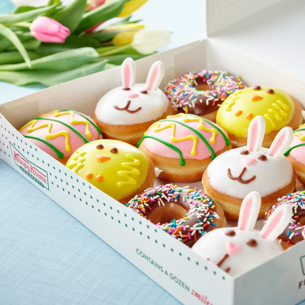 Krispy Kreme® Hops into Spring with Three Seasonally Inspired Doughnuts