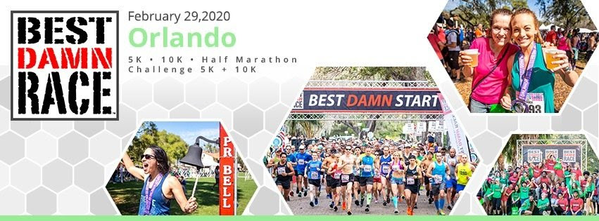 Are you ready for Best Damn Race Orlando 2020?!