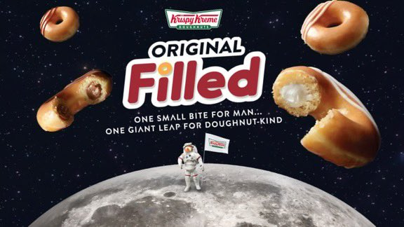 Krispy Kreme® Takes Doughnut Innovation to New Heights with Launch of the Original Filled Doughnut
