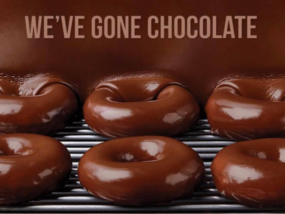 'Thank Goodness It's Chocolate!' KRISPY KREME® Celebrates One Year of TGIC