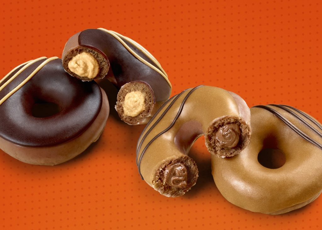 Krispy Kreme® and Reese's Combine their Newest Innovations to Give Fans More of What They Love