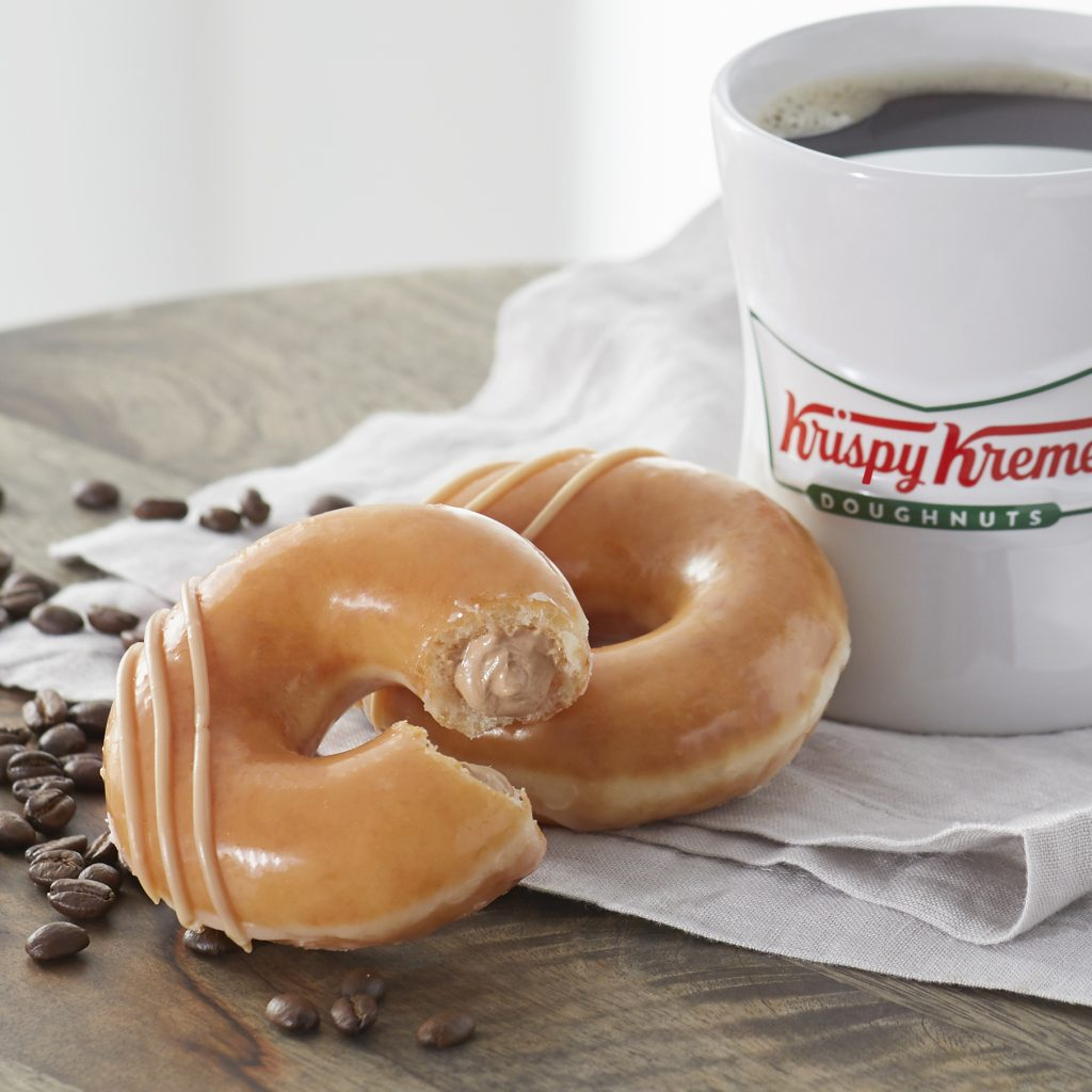 Krispy Kreme Debuts Limited Release Original Filled Coffee Kreme Doughnut for National Coffee Day