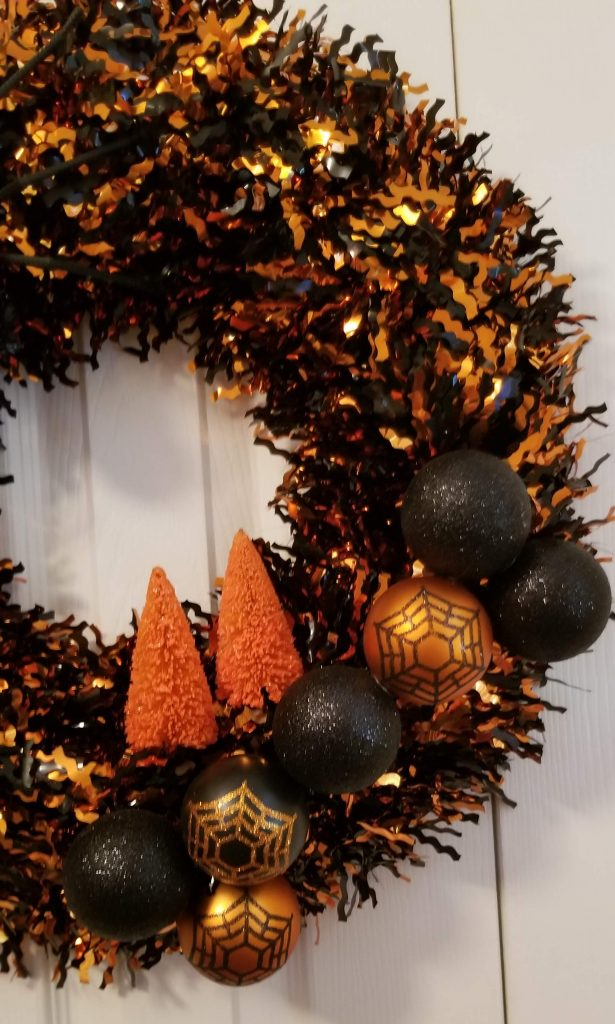 Freaky Friday: DIY Thrift Store Halloween Wreath