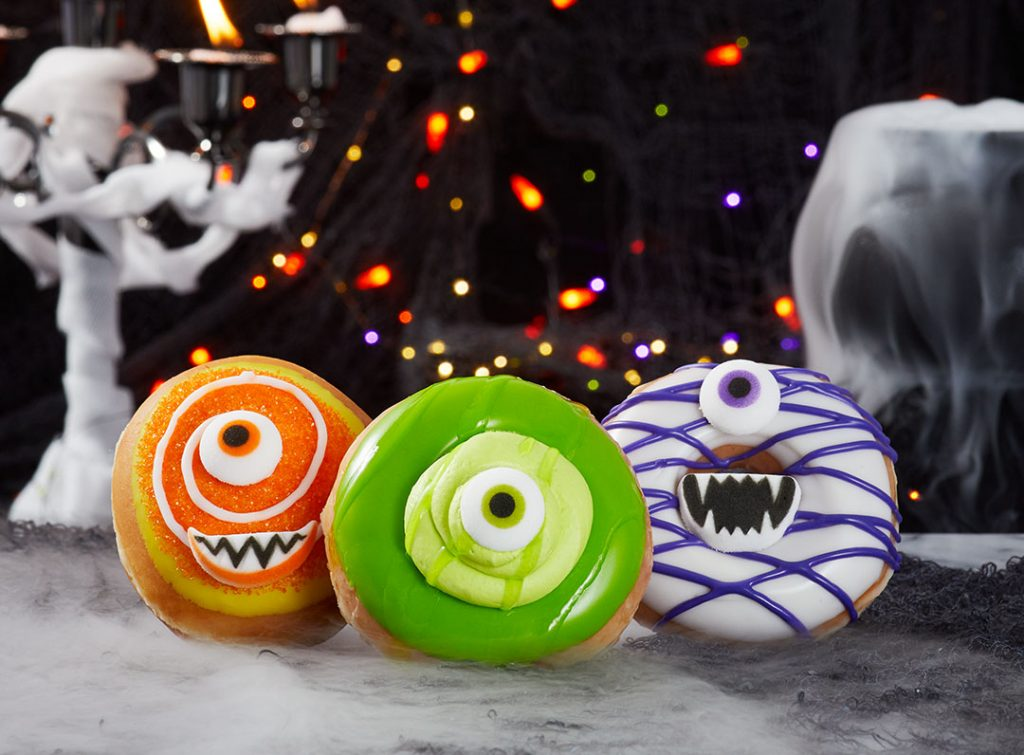 Freaky Friday: Krispy Kreme's 'Monster Batch' Doughnuts Creating Delicious Halloween Mayhem