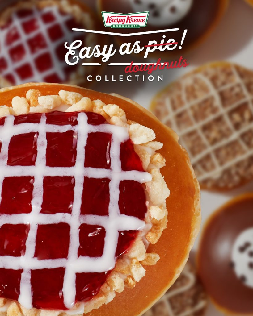 Krispy Kreme® Newest Doughnut Creation Makes Preparing and Enjoying Thanksgiving Desserts 'Easy as Pie'
