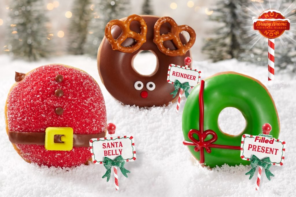 Krispy Kreme® Creates Tastiest Gifts of the Season: North Pole-inspired Doughnuts and a Chocolate Glazed Wonderland