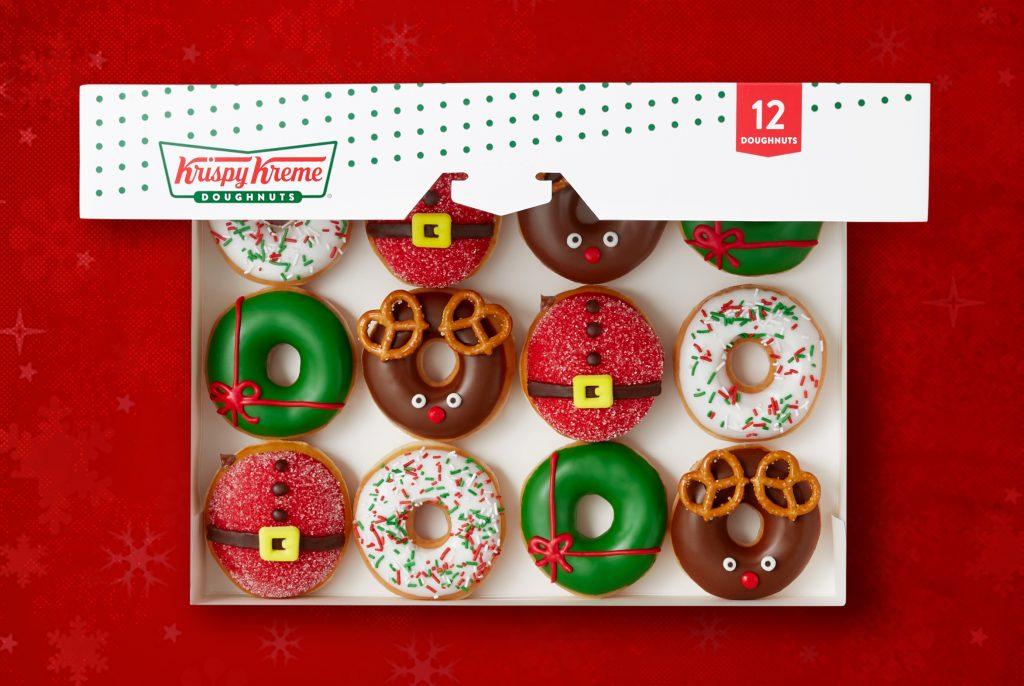 Krispy Kreme® Creates Tastiest Gifts of the Season: North Pole-inspired Doughnuts and a Chocolate Glazed Wonderland