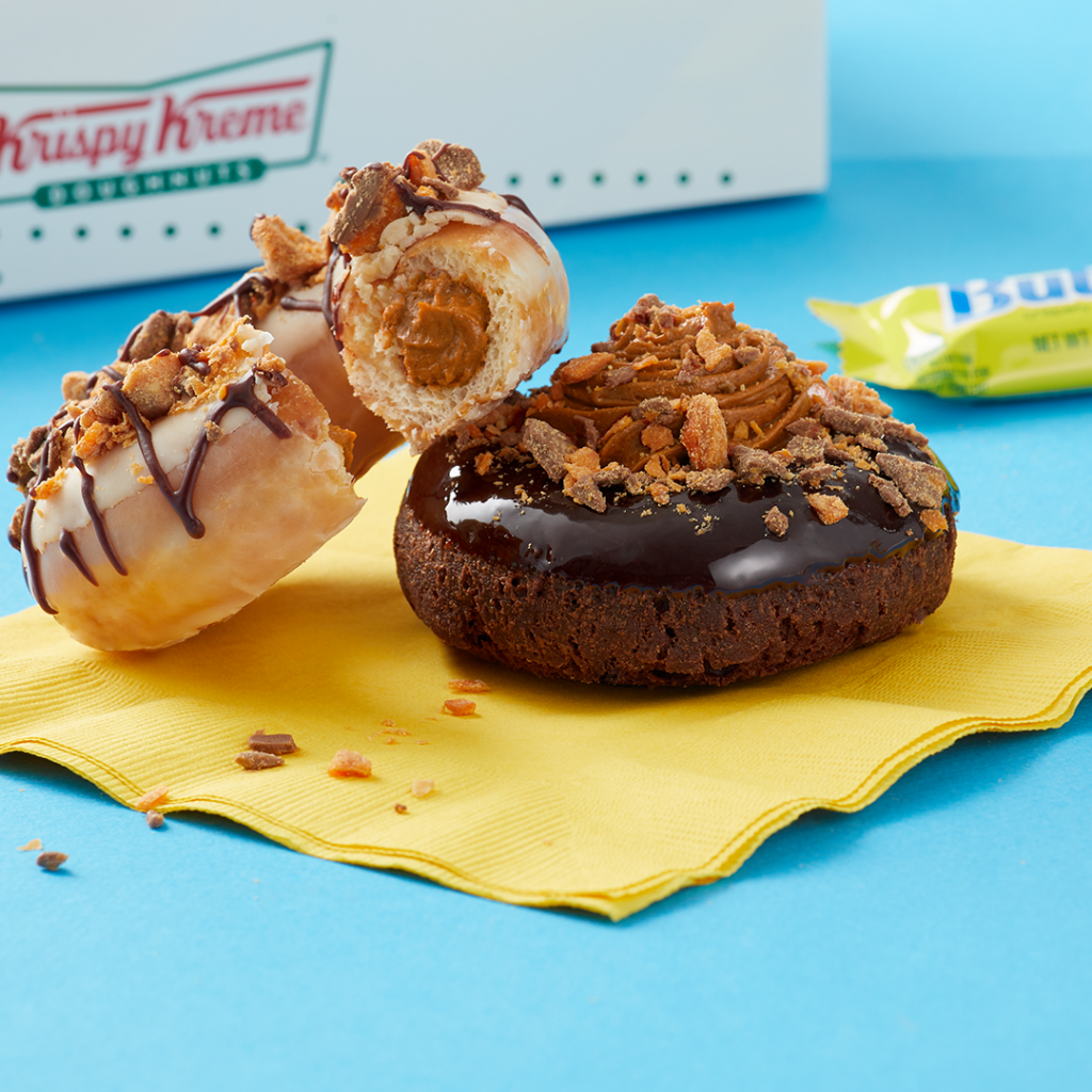Krispy Kreme® Collaborates with Butterfinger® in Collision of 'Krispety' Cravings