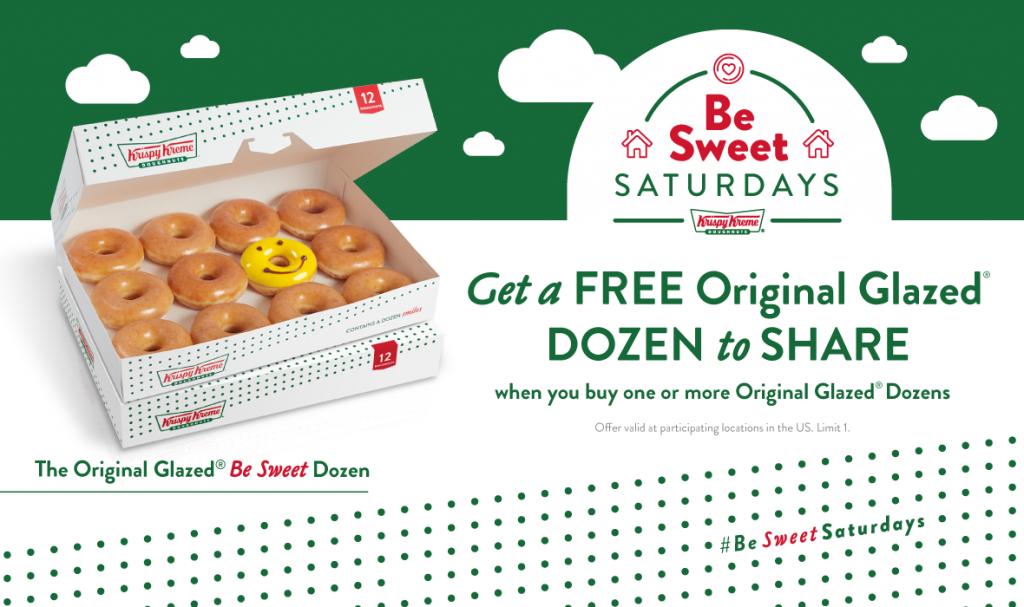 Krispy Kreme® to Give Away Thousands of Free Original Glazed® Dozens