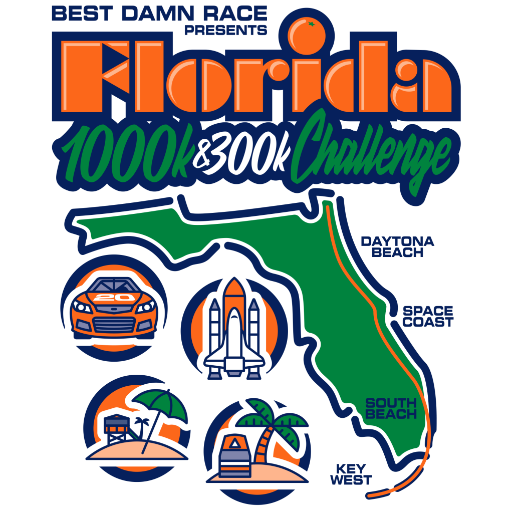 Best Damn Race Presents the Florida 1000K & 300K Challenge