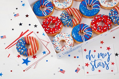 Krispy Kreme® Introduces All-New InDOUGHpendence Day Doughnuts
