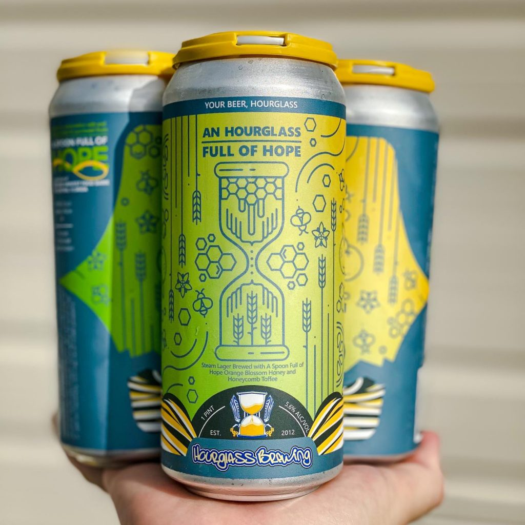Second Harvest Food Bank Collaborates with Hourglass Brewing for Brew Providing An Hourglass Full of Hope